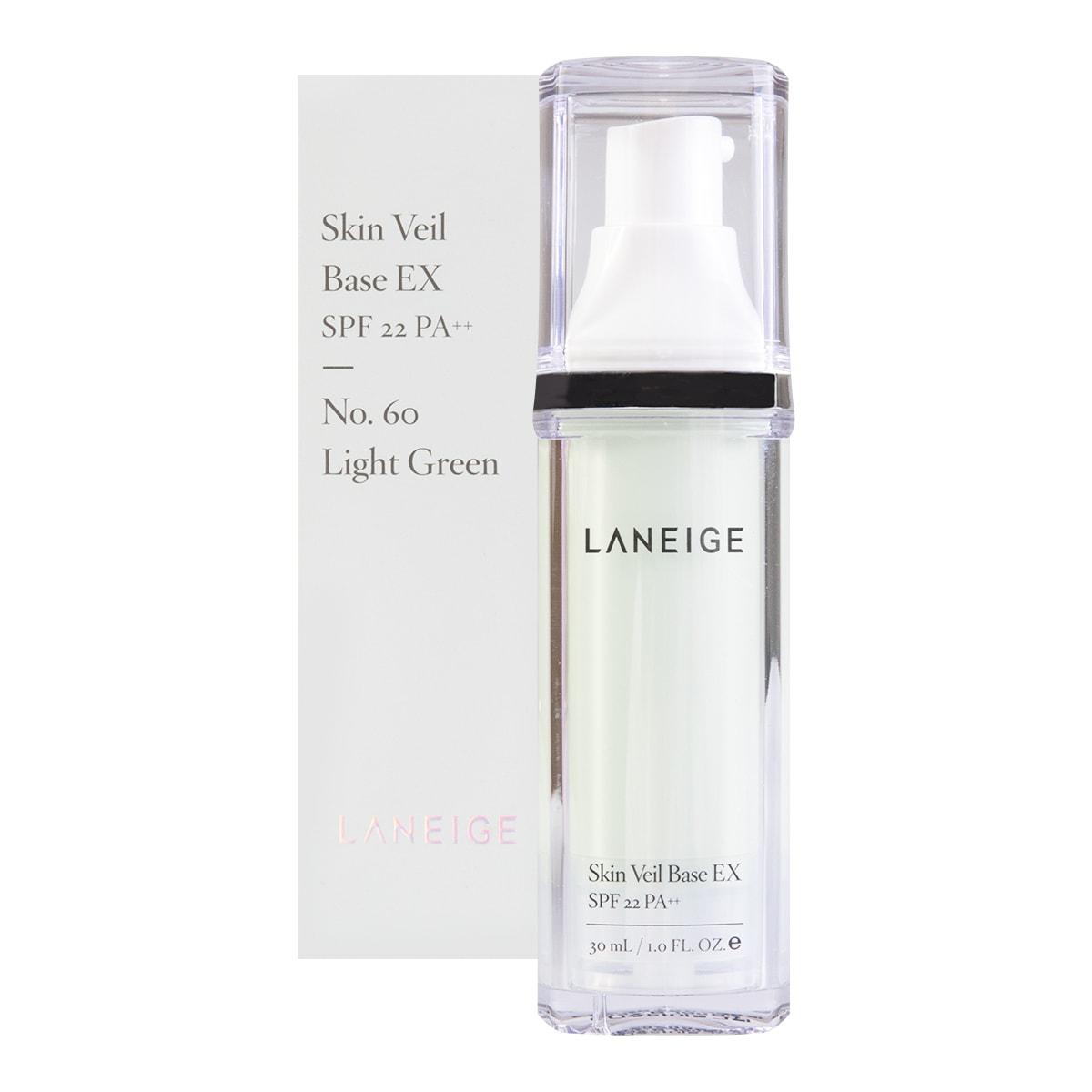 Laneige Lip Eye Make Up Remover Waterproof Ex 25ml Skin Veil Base No60 Light Green Spf22 Pa 30ml