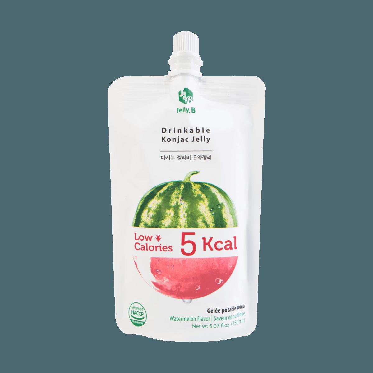 韩国JAYONE JELLY.B 低糖低卡蒟蒻果冻 西瓜味 150ml 怎么样 - 亚米网