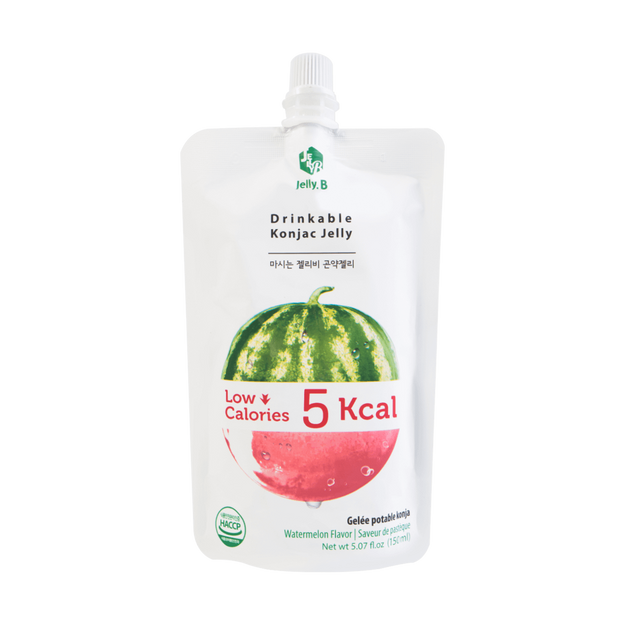 Jelly B. Konjac Drink Watermelon Flavor Low Calories Drink 150ml