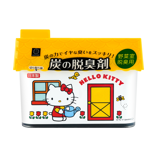 Product Detail - Hello Kitty Limited Edition Charcoal Refrigerator Vegetables Deodorizer 150g - image  0