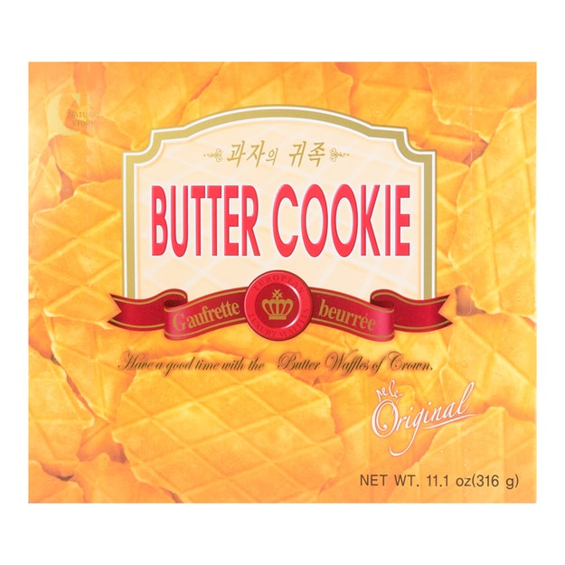 Product Detail - CROWN Butter Waffles 316g - image 0