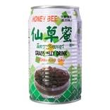 台湾HONEY BEE蜜蜂牌 仙草果粒清凉降火 仙草蜜 315ml