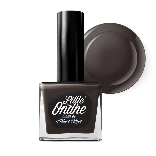 Product Detail - Little Ondine Water-based Peel off Odor Free Quick Dry Non Toxic Natural Nail Polish-Solid Coffee 0.36 Fl Oz(L037-Cacao) - image 0