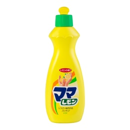 LION Dishwashing Detergent Liquid (Lemon Scent) 380ml