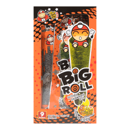TAO KAE NOI Big Roll Grilled Seaweed Roll Tom Yum Goong Flavor 9pc