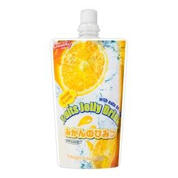 SHIRAKIKU Fruits Jelly Drink Orange Flavor 150g