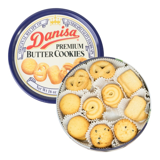 Product Detail - ROYAL DANISA Butter Cookies 454g - image 0