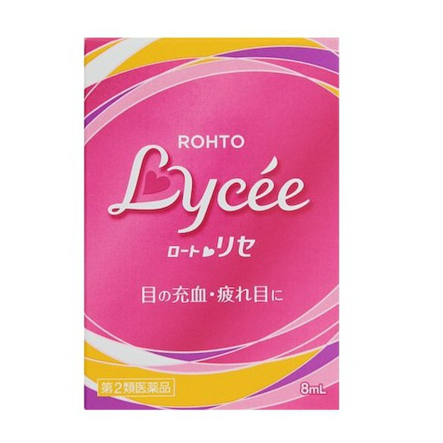 Product Detail - ROHTO Lycee Eye Drops 8ml - image 0
