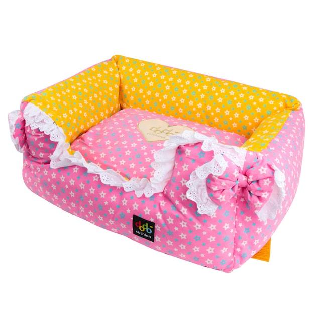 Product Detail - ALPHA DOG SERIES Star & Ribbon Cushion  #Pink - image 0