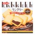 日本LANGULY 巧克力奶油三明治夹心饼干 4包入 129.6g
