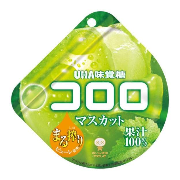 商品详情 - 【日本直邮】UHA悠哈味觉糖 全天然果汁软糖 青葡萄味 48g - image  0