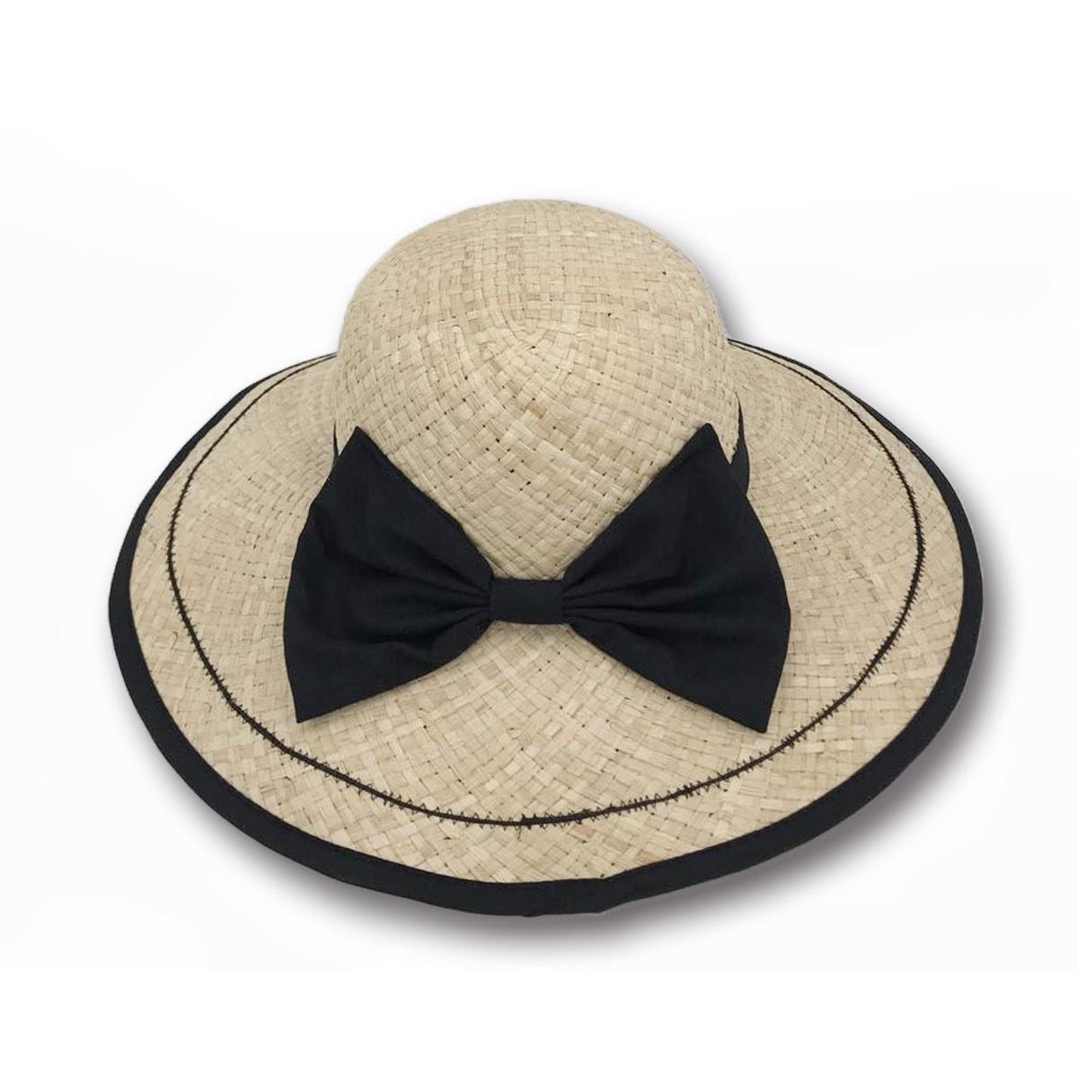 ACCESS HEADWEAR 100%拉菲亚蝴蝶结款时尚礼帽 女款 #米色 均码 怎么样 - 亚米网
