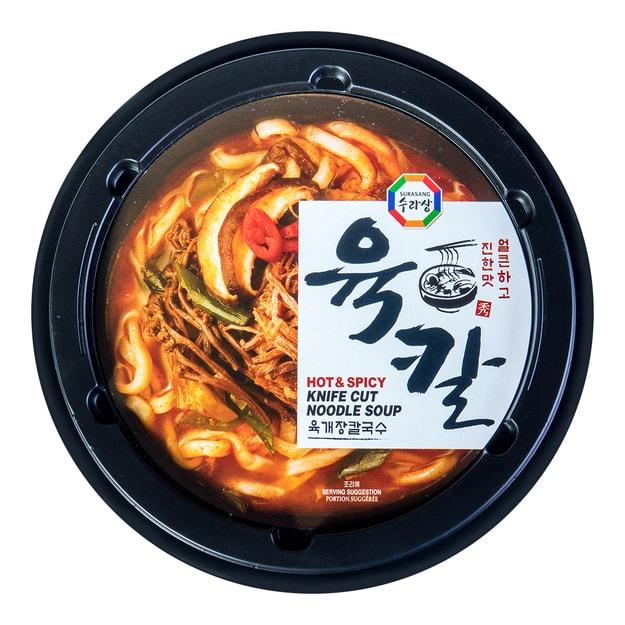 商品详情 - 韩国SURASANG三进牌 牛肉汤刀切面 198g - image  0
