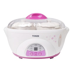 TONZE TIANJI Multi Function Ceramic Pot Electric Stew Pot Slow Cooker 1.6L DDZ-16BWS