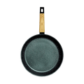 "CONCORD Art of Cooking 12"" Granite Nonstick Coated Cast Aluminum Frying Pan Induction Compatible #Forest Green"