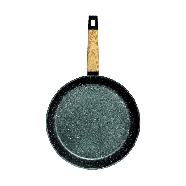 "Product Detail - CONCORD Art of Cooking 12"" Granite Nonstick Coated Cast Aluminum Frying Pan Induction Compatible #Forest Green - image 0"