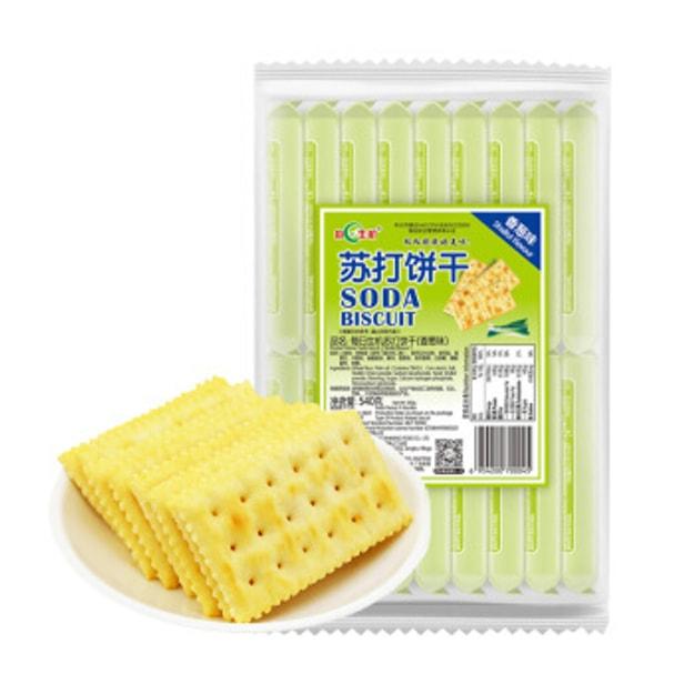 商品详情 - 每日生机 香葱梳打饼 480克 - image  0