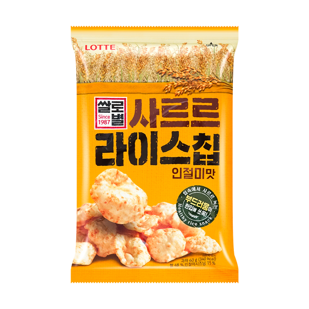 Product Detail - LOTTE Rice Chip 60g - image 0