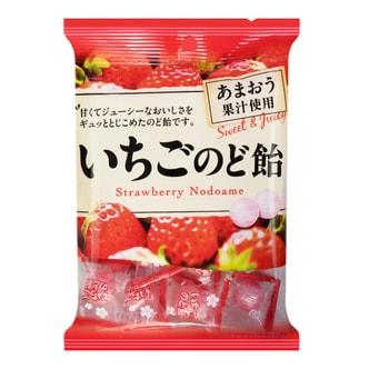 日本PINE 润喉糖 草莓味 90g