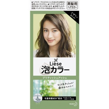 KAO LIESE PRETTIA Bubble Hair Dye #British Ash