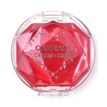 CANMAKE Cream Cheek CL01 Clear Red Heart