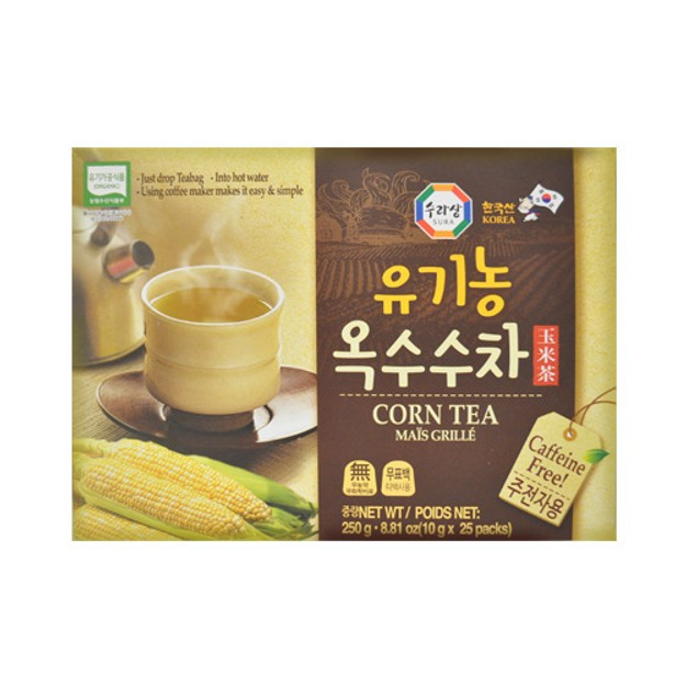 商品详情 - 韩国三进牌 无咖啡因去水肿排毒有机玉米茶 25包入 - image  0