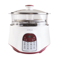 【Pre-order-Ship in 2~5 Days】SONYA Multi Function 3 in 1 Ceramic Smart Electric Slow Stew Pot 2.2L With Steam Tray