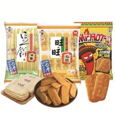 WANT WANT Rice Crackers Mix Original Spicy Pea 350g