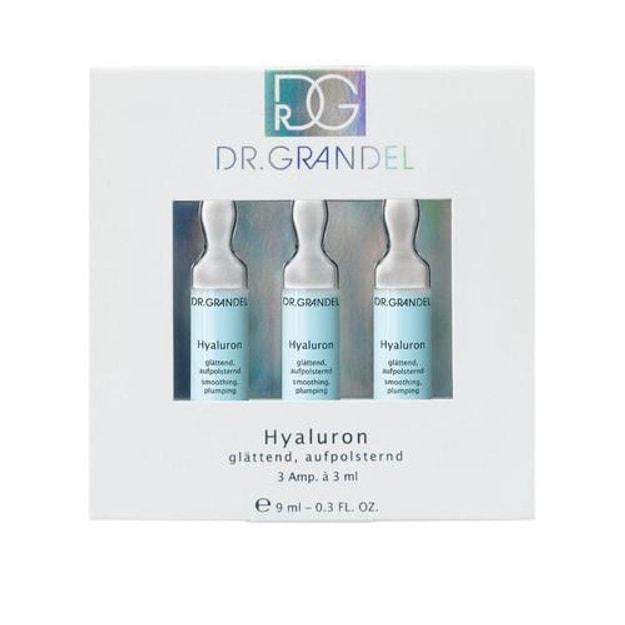 商品详情 - 德国 DR.GRANDEL  透明质玻尿酸原液安瓶 9ml 3只入 - image  0