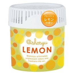 日本KOKUBO小久保 SHOSYU空气清新消臭圆 柠檬香 150g