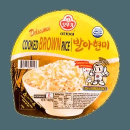 韩国OTTOGI不倒翁 微波糙米饭 210g 2分钟即食