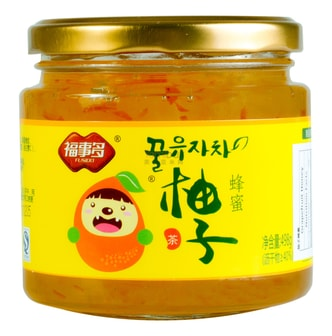 FUSIDO Honey Syrup Grapefruit 500g
