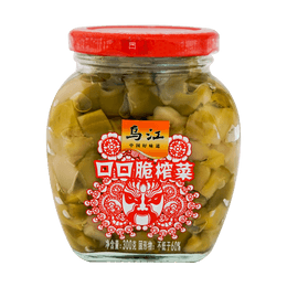 HUITONG Preserved Vegetables In Chili Oil 300g Crispy