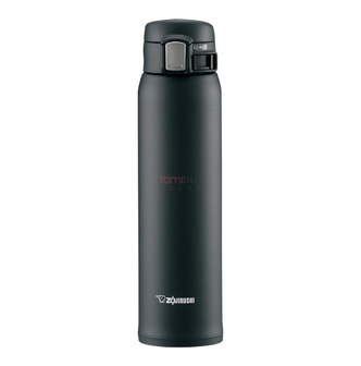 ZOJIRUSHI One Touch Stainless Steel Vacuum Thermal Bottle Black 600ml SM-SA60BA