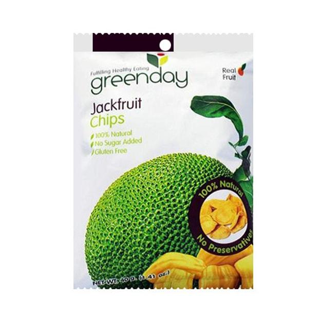 商品详情 - 泰国GREENDAY 纯天然优质菠萝蜜干 40g 泰国特产 - image  0