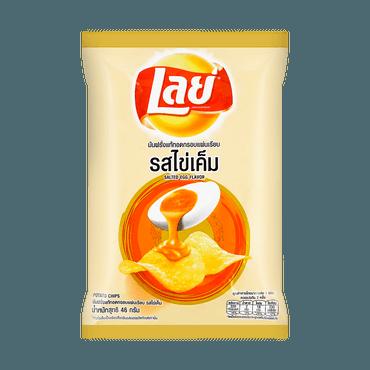 【泰国限定】 LAY'S 乐事薯片  咸蛋黄口味薯片 46g