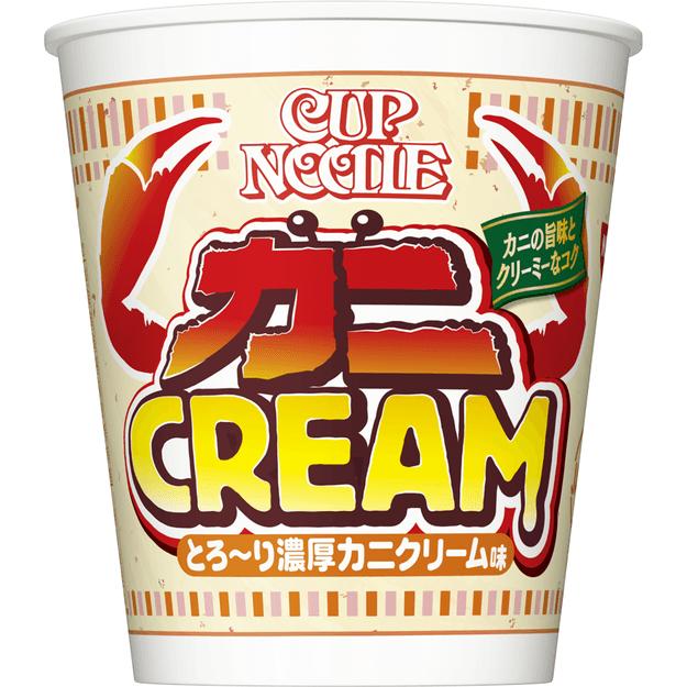 Product Detail - [Japan direct mail] Japan Nissin NISSIN latest taste Winter taste thick crab sauce taste cup noodle large 108g - image 0