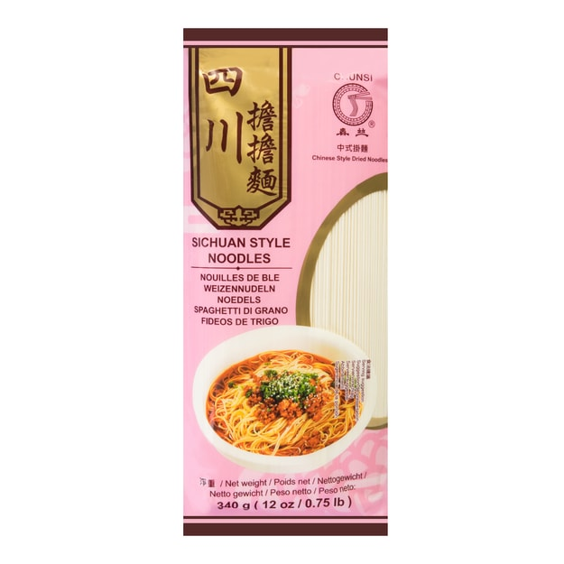 CHUNSI Sichuan Style Noodles 340g