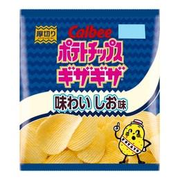 日本CALBEE卡乐B 石垣海盐味薯片 60g