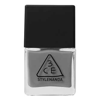 3CE nail lacquer #GY08 Light Grey 10ml