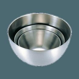 柳 宗理  Sori Yanagi||日式设计美学耐用防锈不锈钢碗3件套||16cm+19cm+23cm