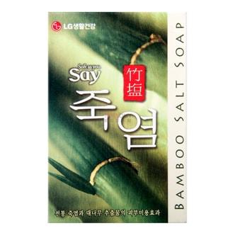 韩国LG 韩方天然有机竹盐香皂 100g