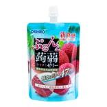 日本ORIHIRO 低卡纤体蒟蒻果冻 荔枝味 130g