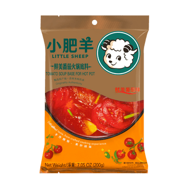 LITTLE SHEEP Hot Pot Soup Base tomato Flavor 200g