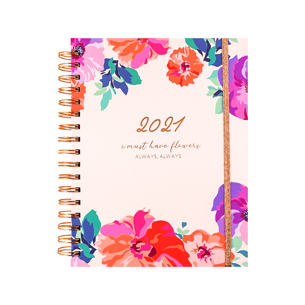 Product Detail - Planner for 2021, 2 Patterns Ship Randomly - image  0