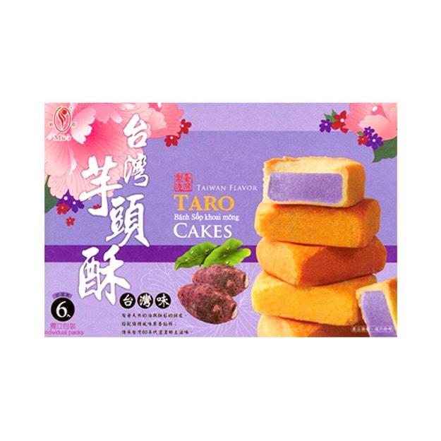 商品详情 - 台湾明奇 传承芋头酥 6枚入 台湾特产 - image  0