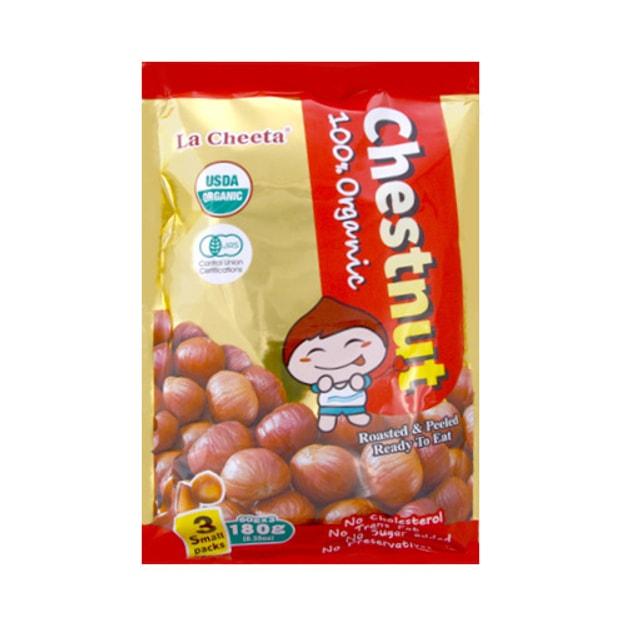 商品详情 - 日本LA CHEETA 纯天然有机种植甜板栗 3包独立装 180g - image  0
