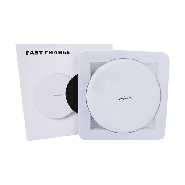 Product Detail - Wireless Charger - Qi Wireless Charging Pad Station 1500mAh White - image 0