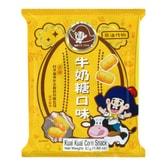 台湾乖乖 造句包 非油炸玉米果 牛奶糖味 52g 童年回忆