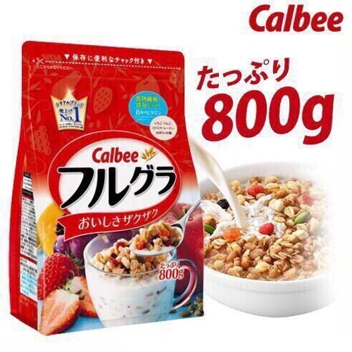 CALBEE Fruit Wheat Cereal  800g